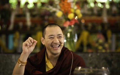 Rinpoche Teaching at KIBI