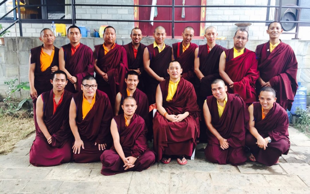 Opening Ceremony for Three-year Retreat