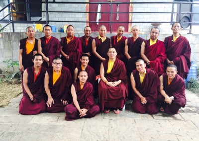 Opening Ceremony Three-year-three-month Retreat 2015 with Dupseng Rinpoche